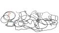 1824984 Набор прокладок передней плиты