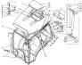 Схема кабины
